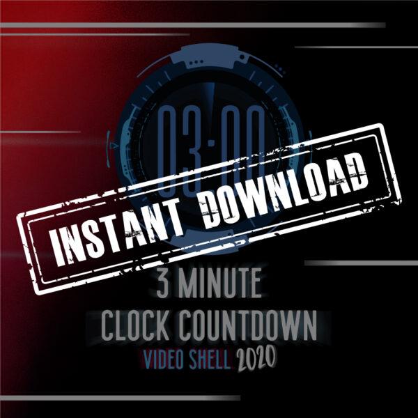 NYE 2020 - TRE minuten minuten Countdown-klok - YNSTERE DOWNLOAD