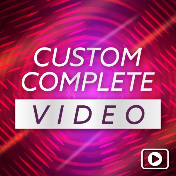 Complete Custom Countdown Video – NYE 2020