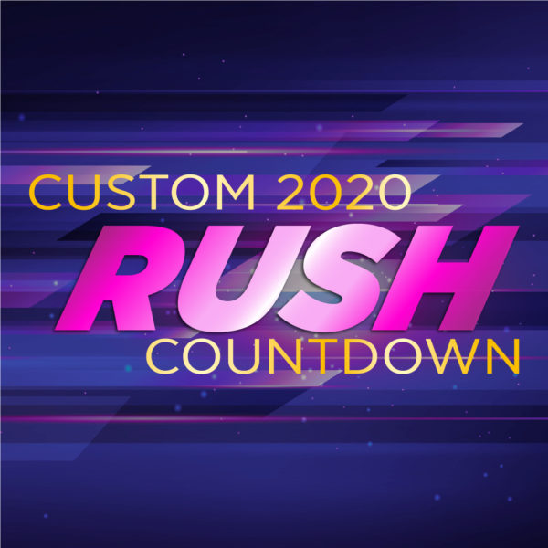Rush Custom Countdown - NYE 2020