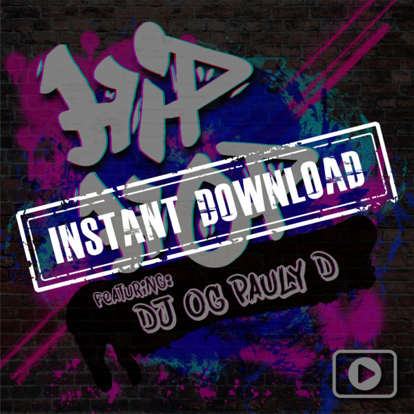 Hip Hop-fideo - NYE 2020 - INSTANT DOWNLOAD