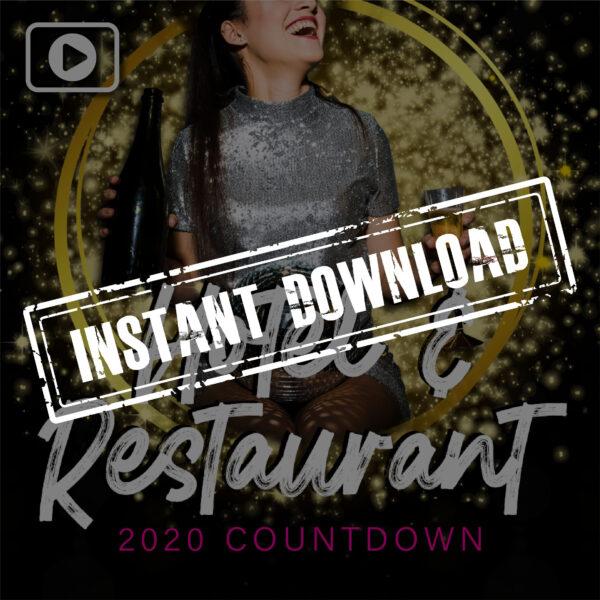 וידאו של מסעדת המלון - NYE 2020 - הורדה מיידית
