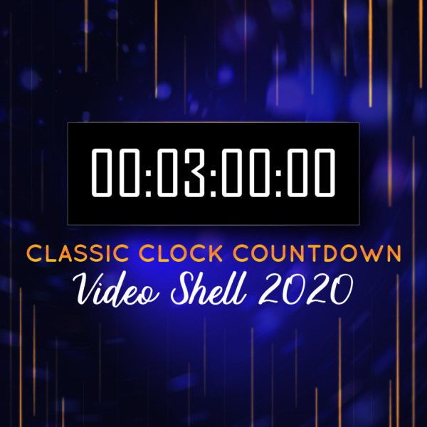 "NYE 2020 - TREE minuten ""Klassike"" Countdown Clock"