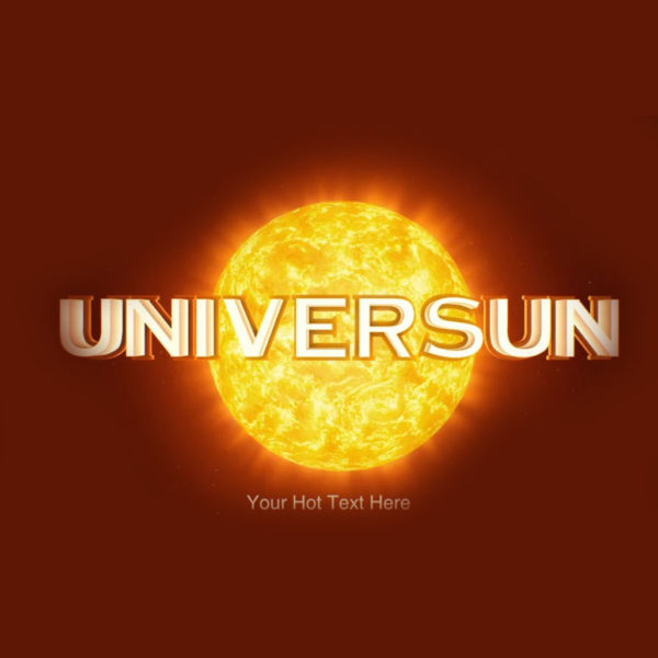 Universal Spinning Sun Dj Intro [Video custom]